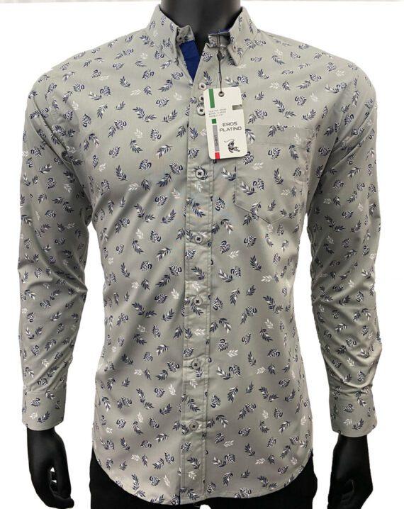 con los Botones Liso Cl/ásico Tobaling para Hombre Camisa Formal